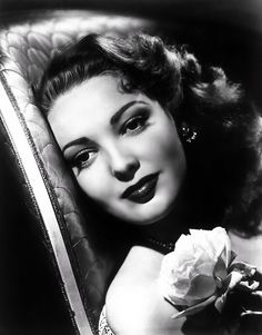 old movie stars photos | ... Land: Fame, Fortune, and Forensics: STAR OF THE MONTH: Linda Darnell