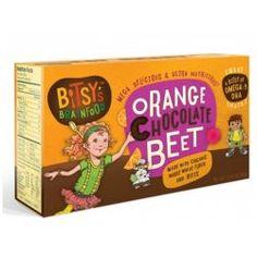 """아이들 영양간식 """"Bitsy's Brainfood Smart Cookies Orange Chocolate Beet"""" #kids_snack #snack #evitamins #간식"""