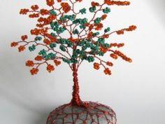 Stromeček štěstí- Rezavý Origami, Origami Paper, Origami Art