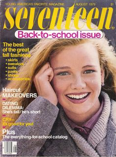 Seventeen Back-to-school issue.  I looked forward to it every year.