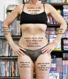 """I have a beautiful body"" (body gratitude)"
