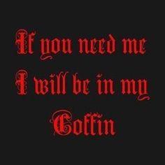 #gothic #goth #humor #dark #darksoul #darkside #darkness #vampire #coffin #horror #horrorfan Goth Memes, Dracula Castle, Dark Jokes, Room Door Design, Funny As Hell, Coffin, Dark Side, I Laughed, Horror