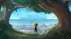 3840x2160 Monkey D Luffy One Piece Art 4K Wallpaper, HD Artist 4K Wallpapers, Images, Photos and Background - Wallpapers Den