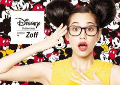 【動画】水原希子がミッキーに?Zoffがディズニー眼鏡のムービー公開 | Fashionsnap.com