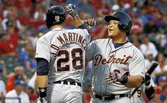 Tigers' Cabrera, J.D. Martinez win Silver Slugger Awards