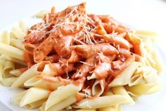 Penne with Spicy Vodka Sauce | Created by Diane