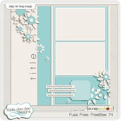 Template freebie from Fiddle-Dee-Dee Designs Scrapbook Layout Sketches, Card Sketches, Scrapbooking Layouts, Baby Boy Scrapbook, Wedding Scrapbook, Digital Scrapbook Paper, Scrapbook Pages, Project Life Layouts, Picture Layouts