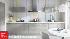 Kuchyňa na mieru Senso Capital, prevedenie 38th elysee avenue od Black Red White. Navštívte naše kuchynské štúdiá - http://www.brw.sk/predajna-siet/ #kuchyna #kitchen #home #interior #blackredwhite