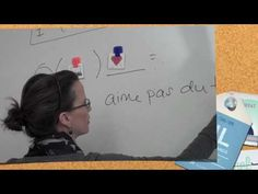 A visual way to teach direct object pronouns. Uses manipulatives. I NEED TO TRY THIS (maybe with bigger visuals). What a great teacher! French Direct Object Pronouns Construction Notes