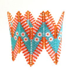 Another geometric rickrack bracelet, this time by the bold Suzanne Golden