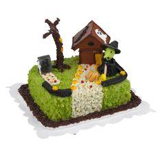 Witch Hide-Away Sheetcake @ miniatures.com