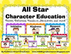 Character Education in the Classroom Year Long Bundle | Character ...