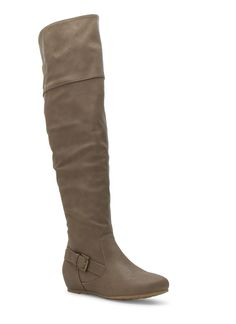 Made For Walking Over-The-Knee Boots TAUPE