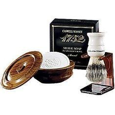 Caswell Massey  pure badger Classic Shaving Set  new by azaleas70