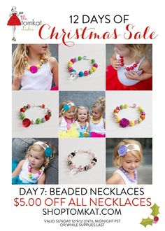 Lovely girly big bead necklaces