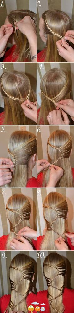 80 Simple Five Minute Hairstyles for Office Women (Complete Tutorials) Five Minute Hairstyles, Pretty Hairstyles, Girl Hairstyles, Braided Hairstyles, Loose Hairstyle, Elven Hairstyles, Sweet Hairstyles, Simple Hairstyles, Braided Updo