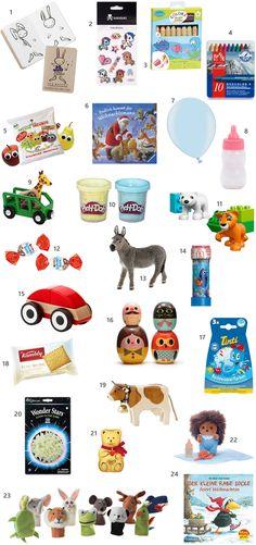 Adventskalender Füllung für Kleinkinder: Die schönsten Adventskalender und 24 Ideen für den Inhalt findet ihr jetzt auf dem Blog www.miniundstil.ch