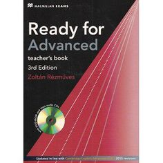 Ready for Advanced Teacher's Book Edition pdf ebook class audio cd Idioms And Phrases, Teacher Books, Learning English, Ielts, Audio, Pdf, Teaching, Education, Learn English