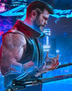 Cyberpunk 2077 role playing advanture and open world game. Huge digitalize and advance weapones are used in cyberpunk Cyberpunk release. Cyberpunk 2020, Cyberpunk Kunst, Cyberpunk Fashion, Cyberpunk Tattoo, Cyberpunk Girl, Character Inspiration, Character Art, Science Fiction, Concept Art Landscape