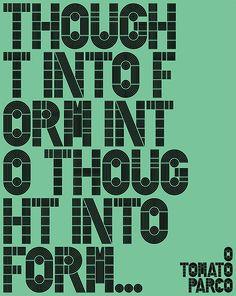 Thought Into Form - John Warwicker (Tomato)