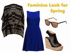 Feminine look for spring