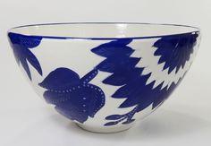 """Jinane  Deep Salad or Serving Bowl 12"""" x 6.5"""" by Le Souk Ceramique #LeSoukCeramique"""