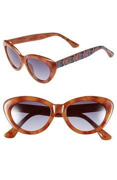 Isaac Mizrahi New York 50mm Cat Eye Sunglasses available at #Nordstrom