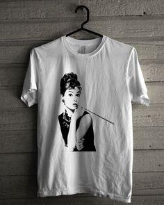 Audrey Hepburn, Breakfast At Tiffany'S Shirt | T-shirt Tees Tshirt Tanktop