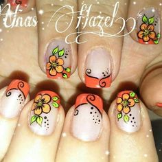 Creative Nail Designs, Simple Nail Art Designs, Toe Nail Designs, Creative Nails, New Nail Art, Cute Nail Art, Beautiful Nail Art, Autumn Nails, Spring Nails