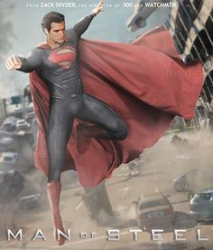 I really hate Superman but seriously what is this pose? He looks like an ungraceful ballerina.