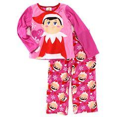 Amazon.com  Elf on the Shelf Girls Christmas Fleece Pajamas (XS (4) 57101c234