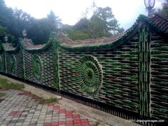 Wat Charok Padang (glass bottles temple) « Chasing Mirages