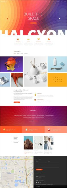 Halcyon is a beautifully design premium #PSD template for stunning #website with 30+ multipurpose homepage layouts and 52 organized PSD pages download now➩ https://themeforest.net/item/halcyon-multipurpose-modern-website-psd-template/17535264?ref=Datasata