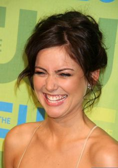 Jessica Stroup at The 2009 CW Network Upfronts