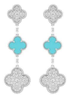 Van Cleef & Arpels Princess Charlene Alhambra Set