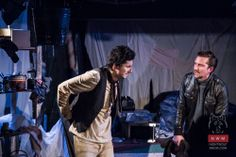 The Caretaker was our second production of a Harold Pinter play and was our most acclaimed to date, bringing in a clean sweep of positive reviews. This three man show played at the Lantern Theatre and starred Jack Murray in the title role.