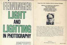 FEININGER LIGHT AND LIGHTING IN PHOTOGRAPHY AMPHOTO PUB 1976