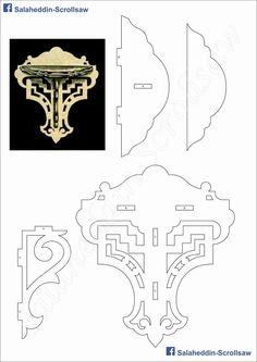 Salaheddin-Scrollsaw Scroll Saw Patterns, Wood Patterns, Wood Crafts, Diy And Crafts, Paper Crafts, 3d Puzzel, Woodcut Art, Cardboard Paper, Cnc Projects