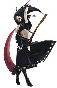 Testament - Character design and Art - Guilty Gear Isuka