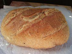 Tönkölybúzás, kovászolt kenyér