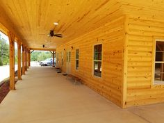 Log Cabin Siding direct from the manufacturer in Flomaton, AL - Southern Wood Specialties - P: 251-296-2556 Heart Pine Flooring, Pine Floors, Log Cabin Siding, Exterior Siding, Home Repairs, House Plans, Wood, Outdoor Decor, Southern