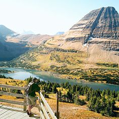 Montana's Glacier National Park- I have a picture of myself in this same exact spot!