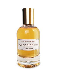 Serendipitous Eau de Parfum by Serendipity 3, at Luckyscent. Hard-to-find fragrances, niche brand perfumes,  and other under-the-radar luxuries.