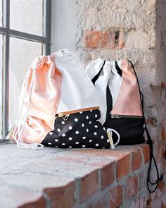 DIY: drawstring back pack