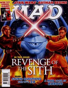 Mad Star Wars Covers - Mad Star Wars: Revenge of the Sith