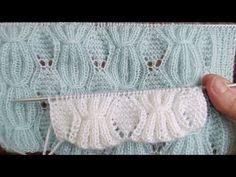 Baglamalı baklava yelek modeli yapimi.. @boncukellam - YouTube Crochet, Youtube, Model, Design, Scale Model, Ganchillo, Crocheting