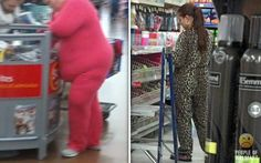 lol people actually wearing the Forever Lazy! and of course, in Walmart!