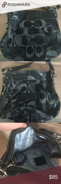 Coach Purse Medium size black Coach purse Coach Bags Shoulder Bags