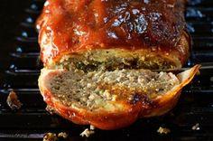 Meatloaf Pioneer Woman  The best meatloaf ever, the sauce rocks!!!!