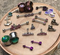 Treat yo'self Sunday afternoon!  We love to talk about body jewelry and tattoos, come see us and lets get something started! #920 #920tattoo #920tattooco #920tattoocompany #plugs #plugsnotgauges #nipplepiercing #nipplepiercings #nipplespierced #nipplejewelry #earrings #earpiercings #industrial #industrialpiercing #navelpiercing #navelbars #arrowjewelry #opaljewelry #metalplugs #colorfuljewelry #jewelrygram